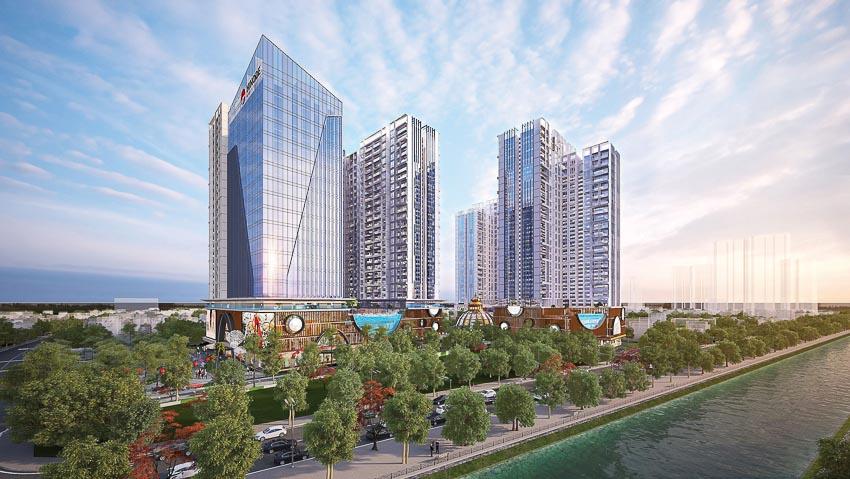 Hinode City sắp ra mắt tòa tháp Asahi