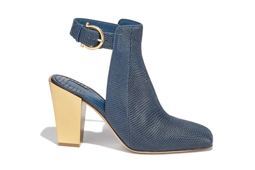 Giày sandals cao gót của Salvatore Ferragamo