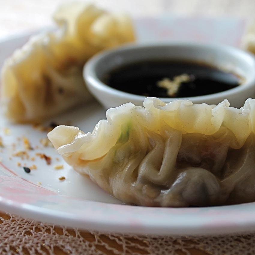 Há cảo mandu của ẩm thực Triều Tiên