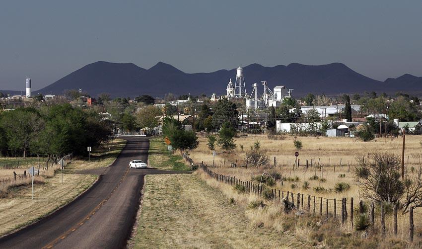 Cảnh đẹp trên cung đường xuyên Texas