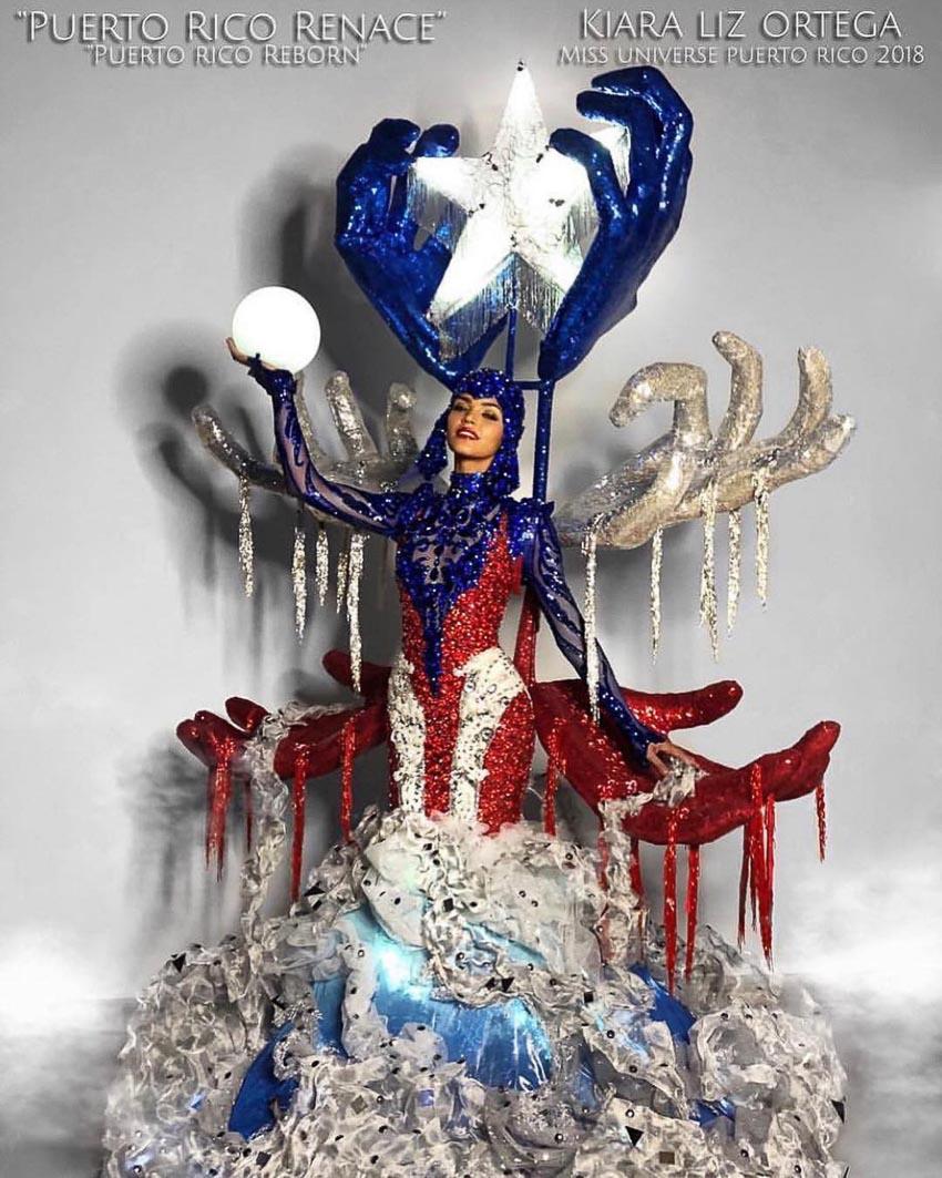 quốc phục của đại diện các nước dự thi Miss Universe 2018 11
