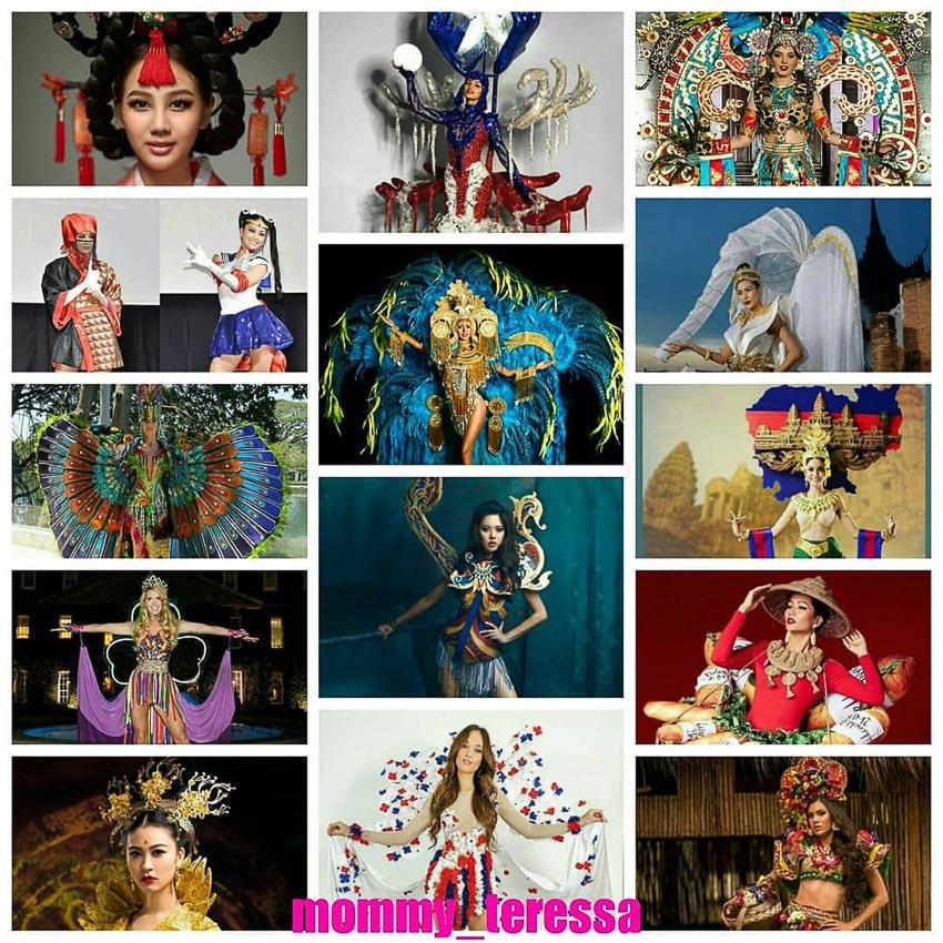 quốc phục của đại diện các nước dự thi Miss Universe 2018 3
