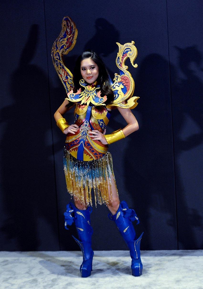 quốc phục của đại diện các nước dự thi Miss Universe 2018 12