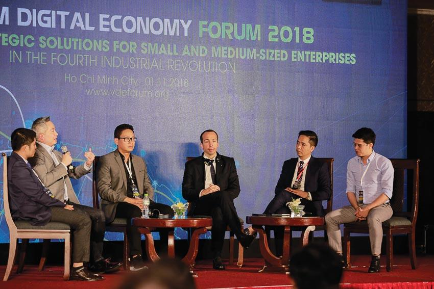 Tiến sĩ Chawapol Jariyawiroj trong Diễn đàn Kinh tế số Việt Nam 2018