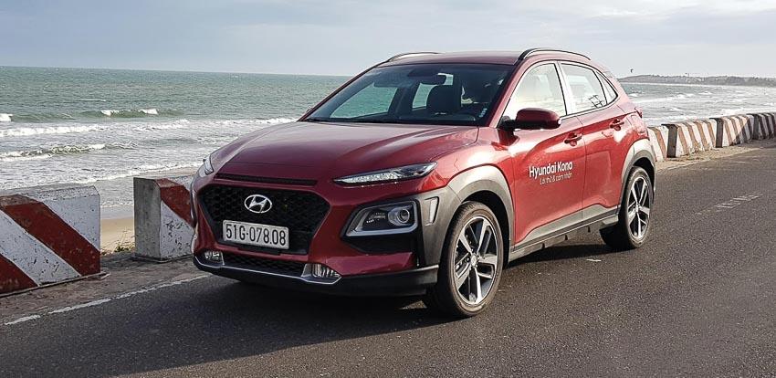 Hyundai Kona vừa ra mắt cuối tháng 8 cũng được thị trường chào đón