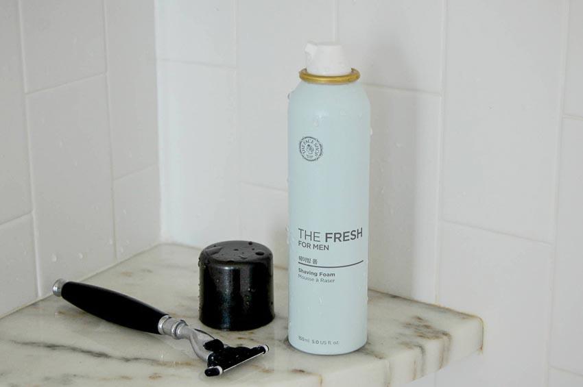 The Fresh For Men Shaving Foam