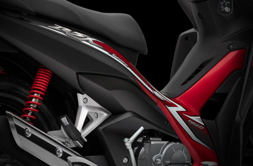 Honda Wave 110 RSX FI phiên bản mới Đen-Đỏ 3