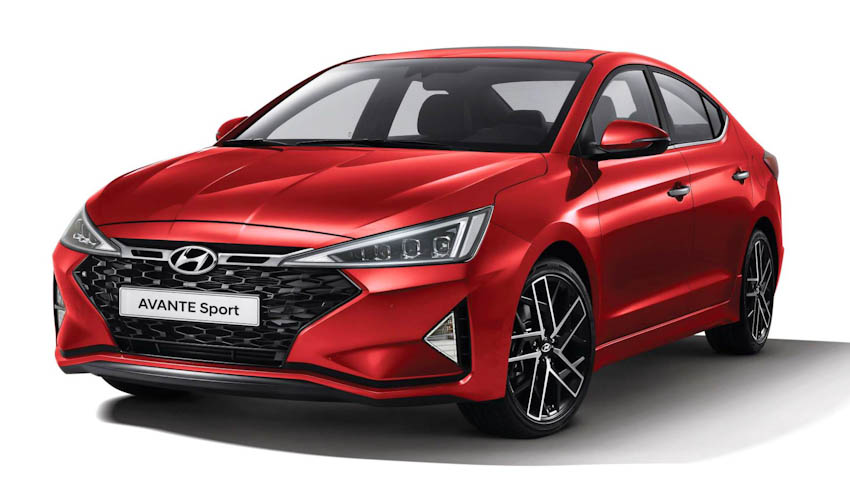 Hyundai Avante Sport 1