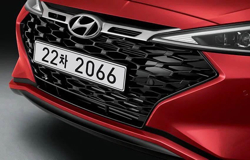 Đầu xe Hyundai Avante Sport