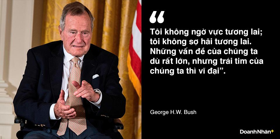 George H.W. Bush và những câu nói truyền cảm hứng - 3