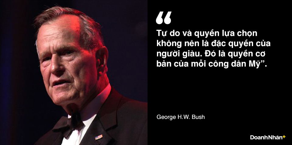 George H.W. Bush và những câu nói truyền cảm hứng - 6