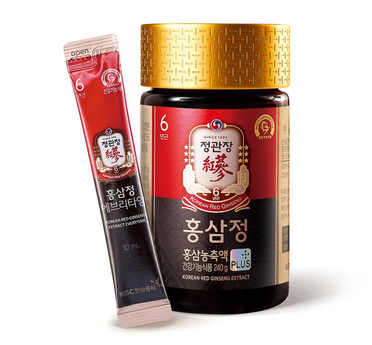 Các sản phẩm Tinh Chất Cao Hồng Sâm Hàn Quốc là những sản phẩm bán chạy nhất của thương hiệu Cheong Kwan Jang.