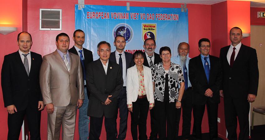 BCH Liên đoàn Vovinam châu Âu nhiệm kỳ II. | Tư liệu Vothuat.vn