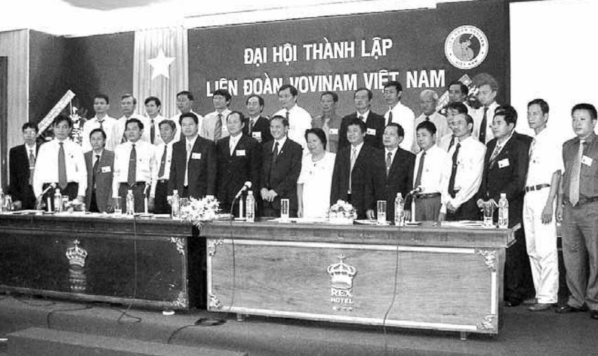 Ban chấp hành Liên đoàn Vovinam Việt Nam nhiệm kỳ I. | Tư liệu Vothuat.vn