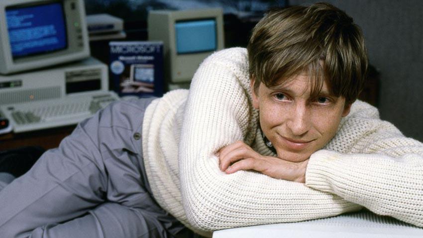 Ông Bill Gates vào năm 1985