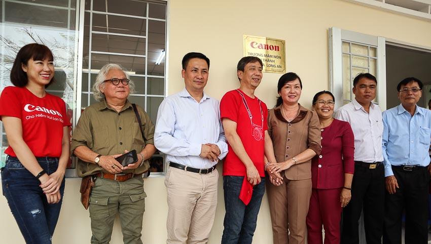 Canon trao tặng phòng học cho trường mầm non tại Long An 1