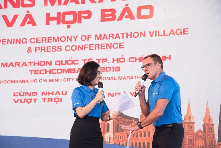 Khai mạc giải Marathon Quốc tế TP. HCM Techcombank 2018 1