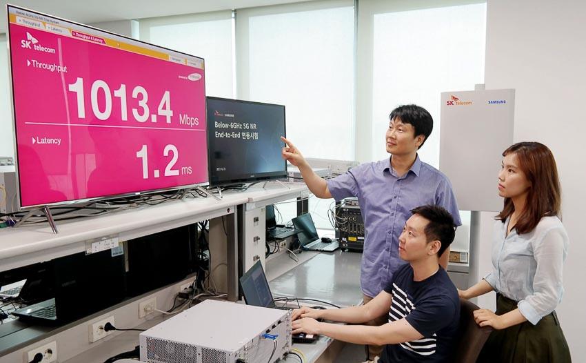 Hàn Quốc chính thức đưa vào hoạt động mạng 5G 1
