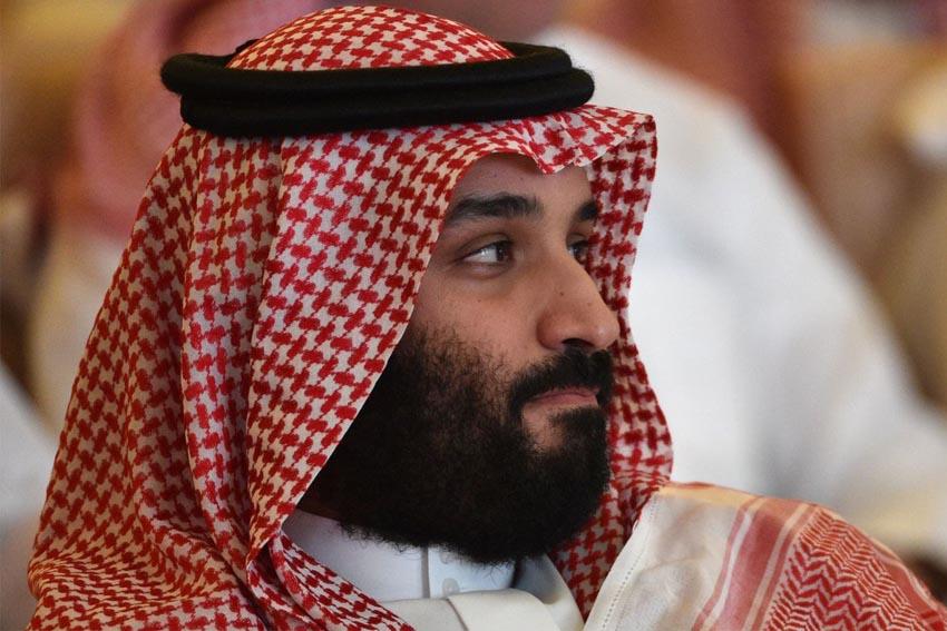 Thái tử Arab Saudi Mohammed bin Salman tại hội nghị về đầu tư ở Riyadh hồi tháng 10