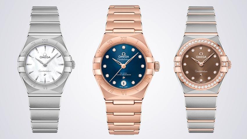 Omega ra mắt bộ sưu tập đồng hồ Constellation mới 1