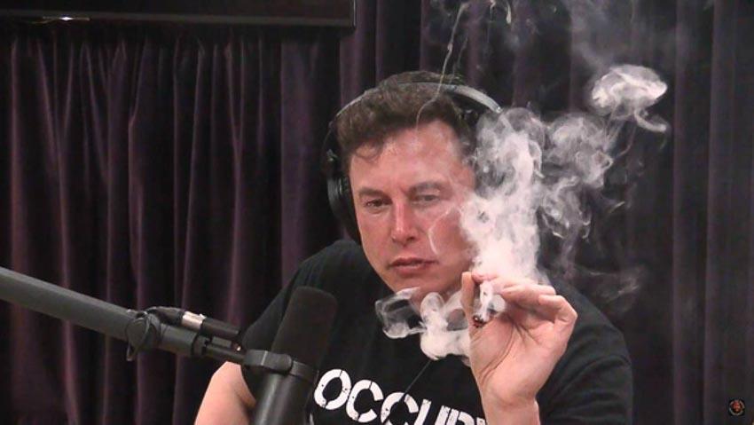 Elon Musk từng bị chỉ trích vì hút cần sa và uống rượu trong một cuộc phỏng vấn trực tiếp phát trên YouTube hồi đầu tháng 9