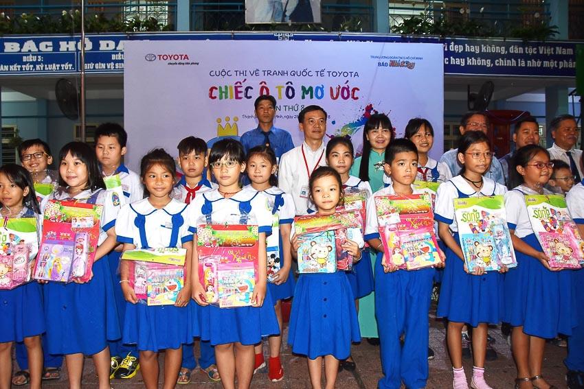 Toyota Việt Nam phát động cuộc thi vẽ tranh lần thứ 8 4