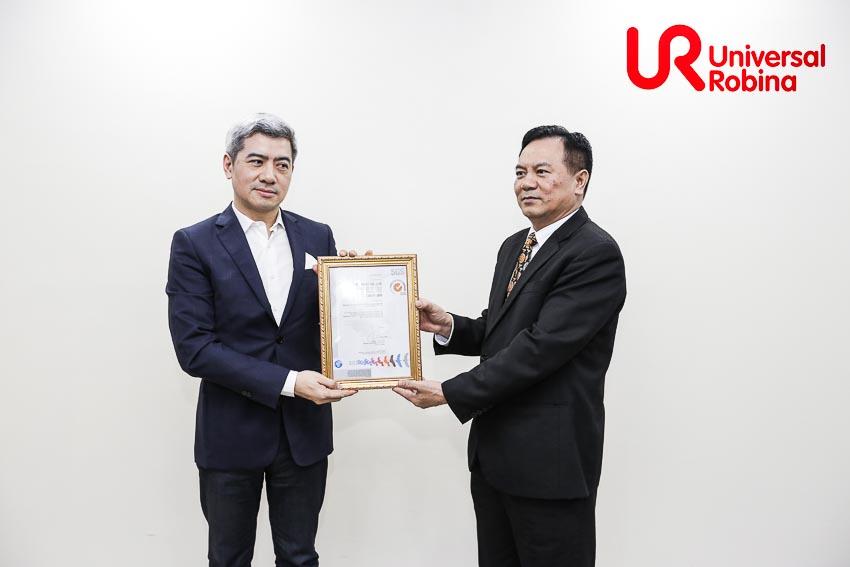 URC Việt Nam liên tục đạt các chứng chỉ về an toàn và chất lượng 2