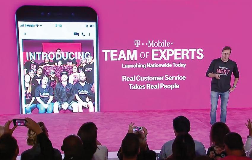"""T-Mobile: Làm mới """"đường dây nóng"""" để làm hài lòng khách hàng và giữ chân nhân viên"""