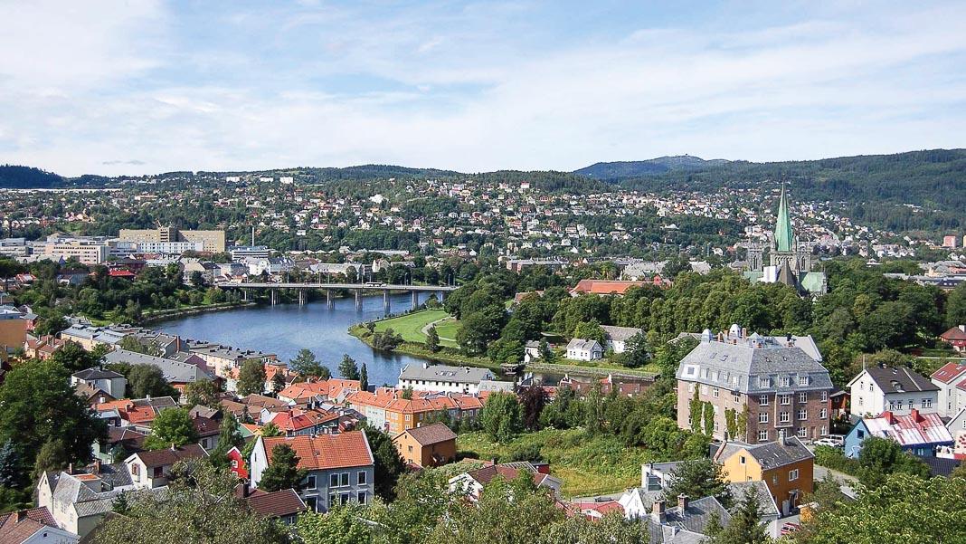 Thành phố Trondheim, nơi quy tụ những trường đại học hàng đầu Na Uy