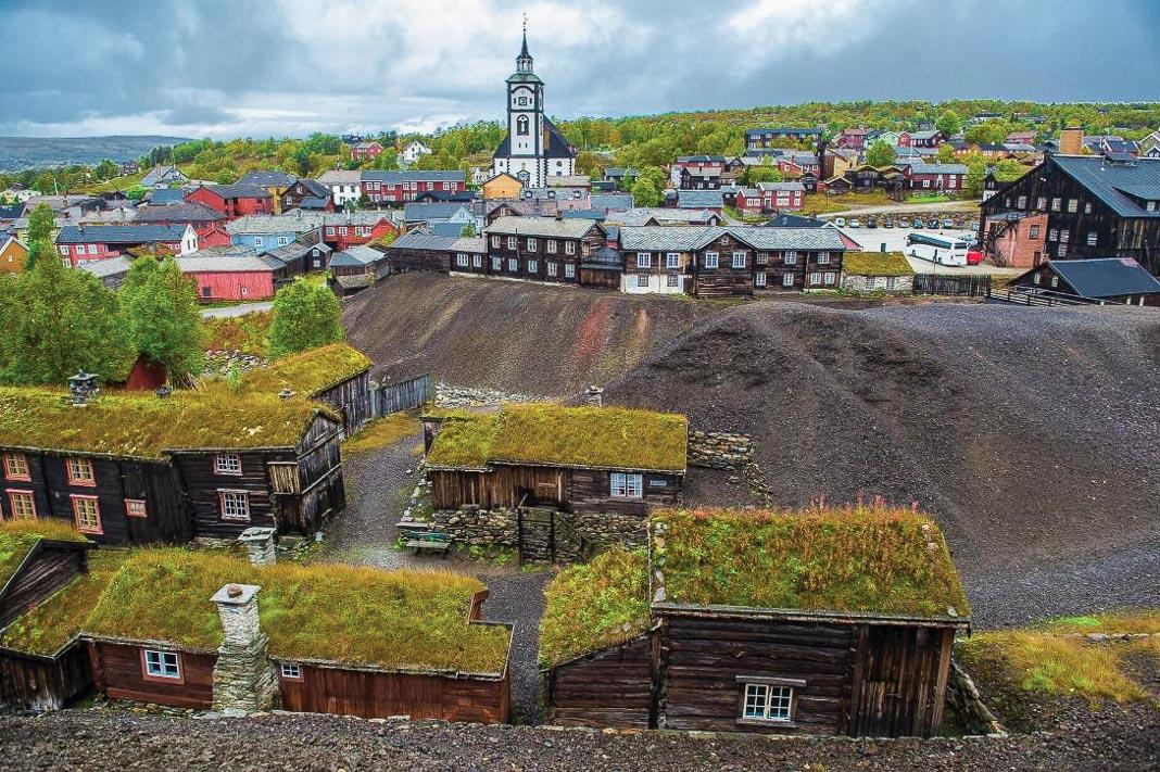 Sắc màu di sản văn hóa thế giới của Na Uy