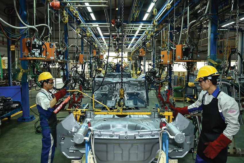 Ngành công nghiệp ôtô Việt Nam 1