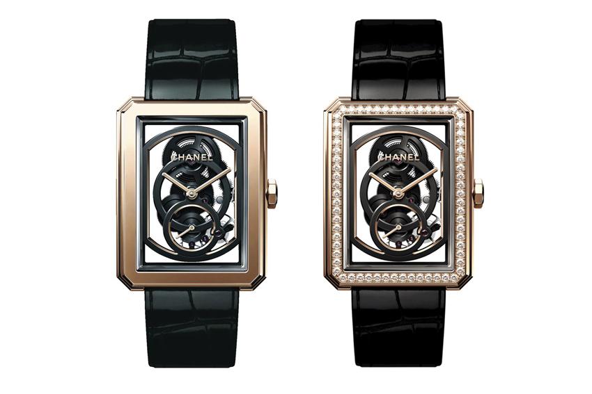 Đồng hồ Boy.Friend Skeleton phiên bản mới của Chanel 0