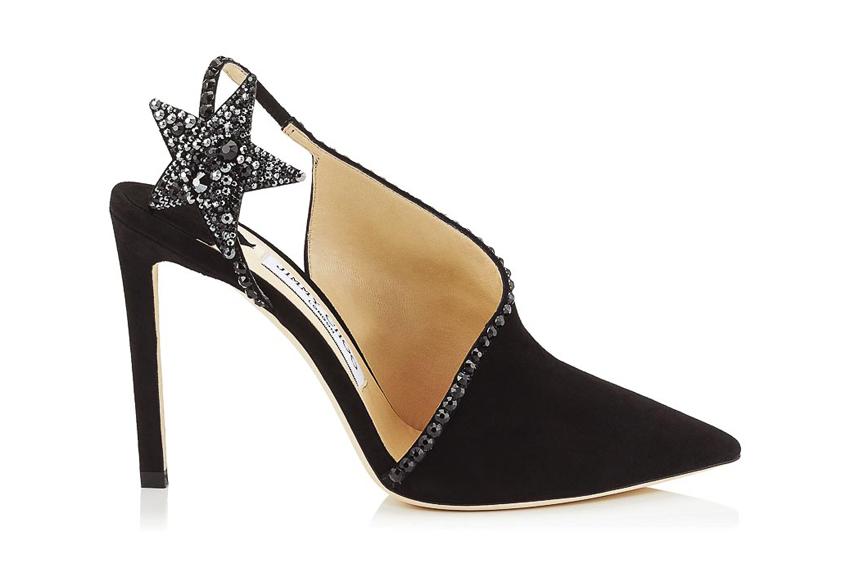 Giày cao gót Jimmy Choo với điểm nhấn ngôi sao tinh tế