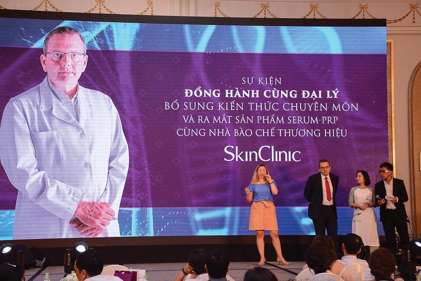 SkinClinic ra mắt sản phẩm Serum PRP cùng người sáng lập thương hiệu 1