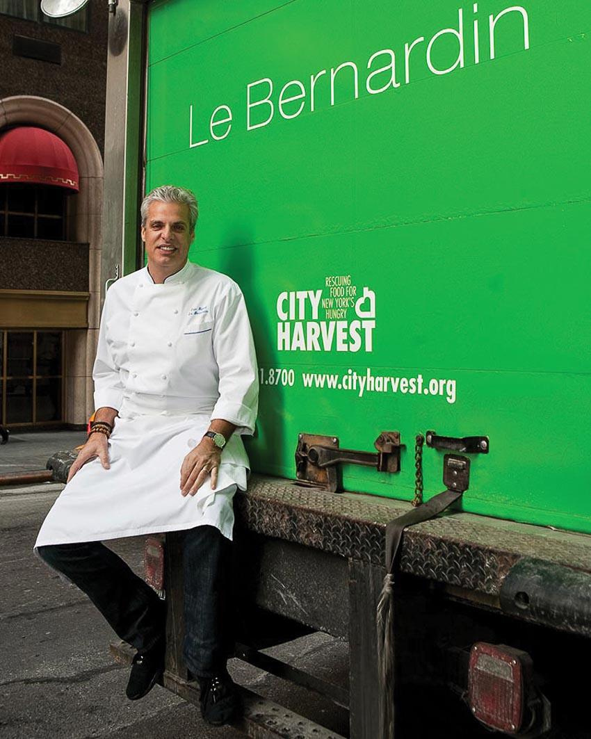 Bếp trưởng Éric Ripert của Le Bernardin
