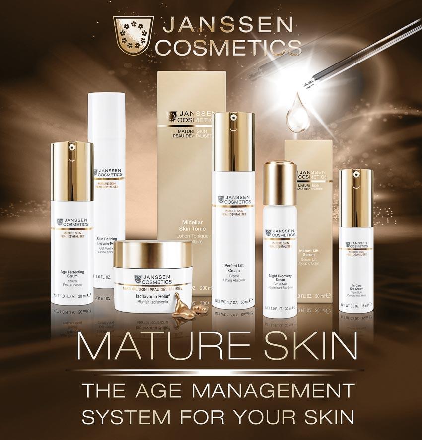 Janssen Cosmetics giới thiệu bộ sản phẩm chống lão hóa Mature Skin mới