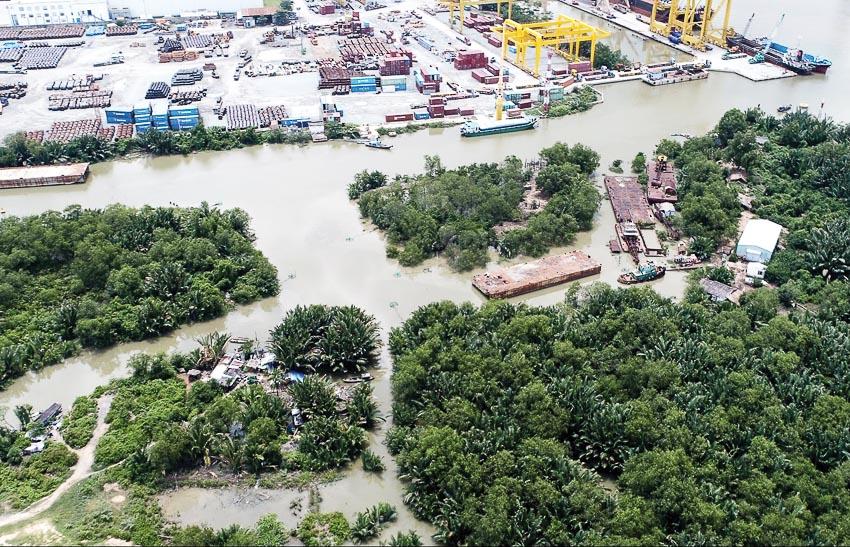 Dự án khu công viên mũi Đèn Đỏ P. Phú Thuận, Q.7