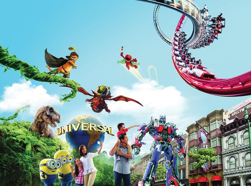 Kỳ nghỉ thú vị của gia đình tại Resorts World Sentosa 9
