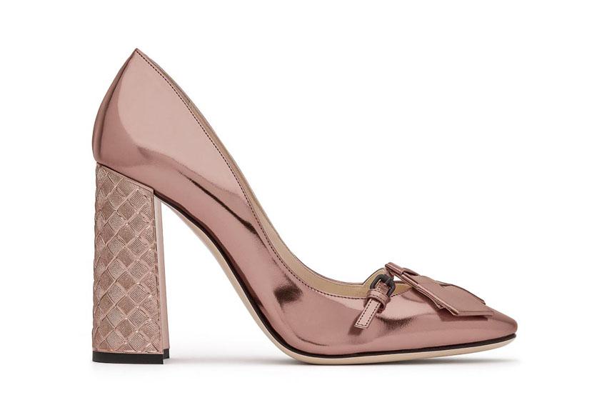 Đôi giày cao gót kiêu sa của Bottega Veneta
