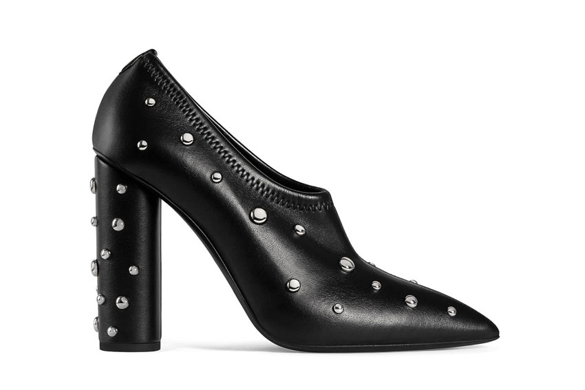 Đôi giày cao gót đen cá tính của Giuseppe Zanotti Design