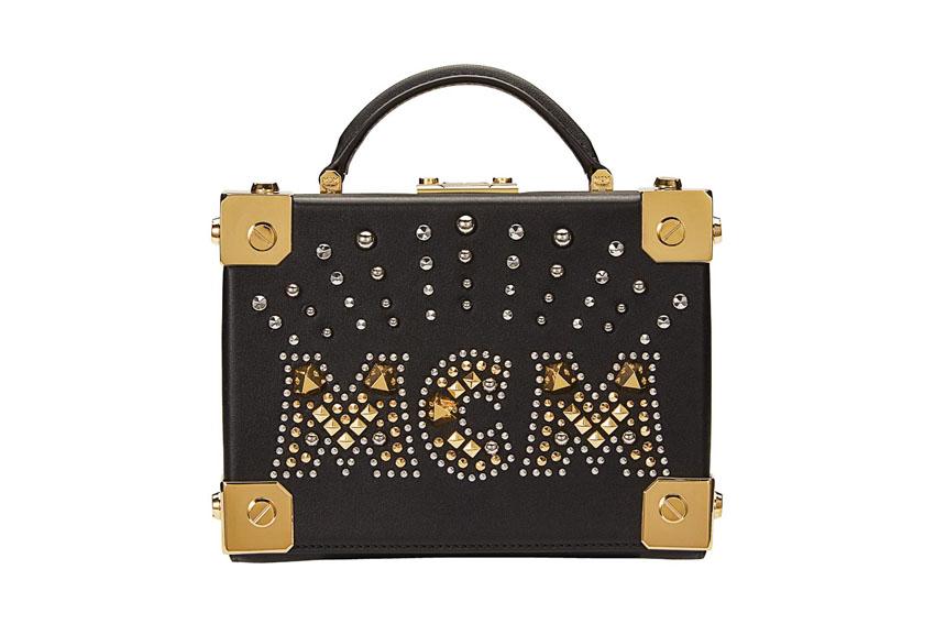 Chiếc túi hộp thời thượng của MCM