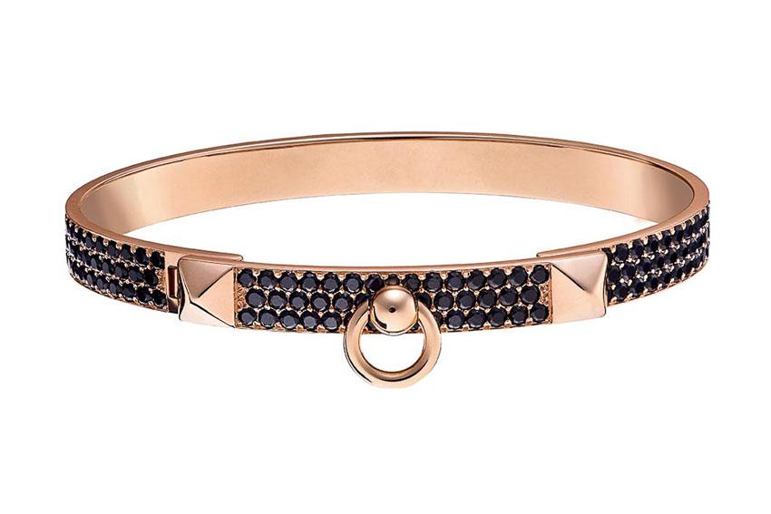 Bộ đôi nhẫn và vòng tay của Hermès