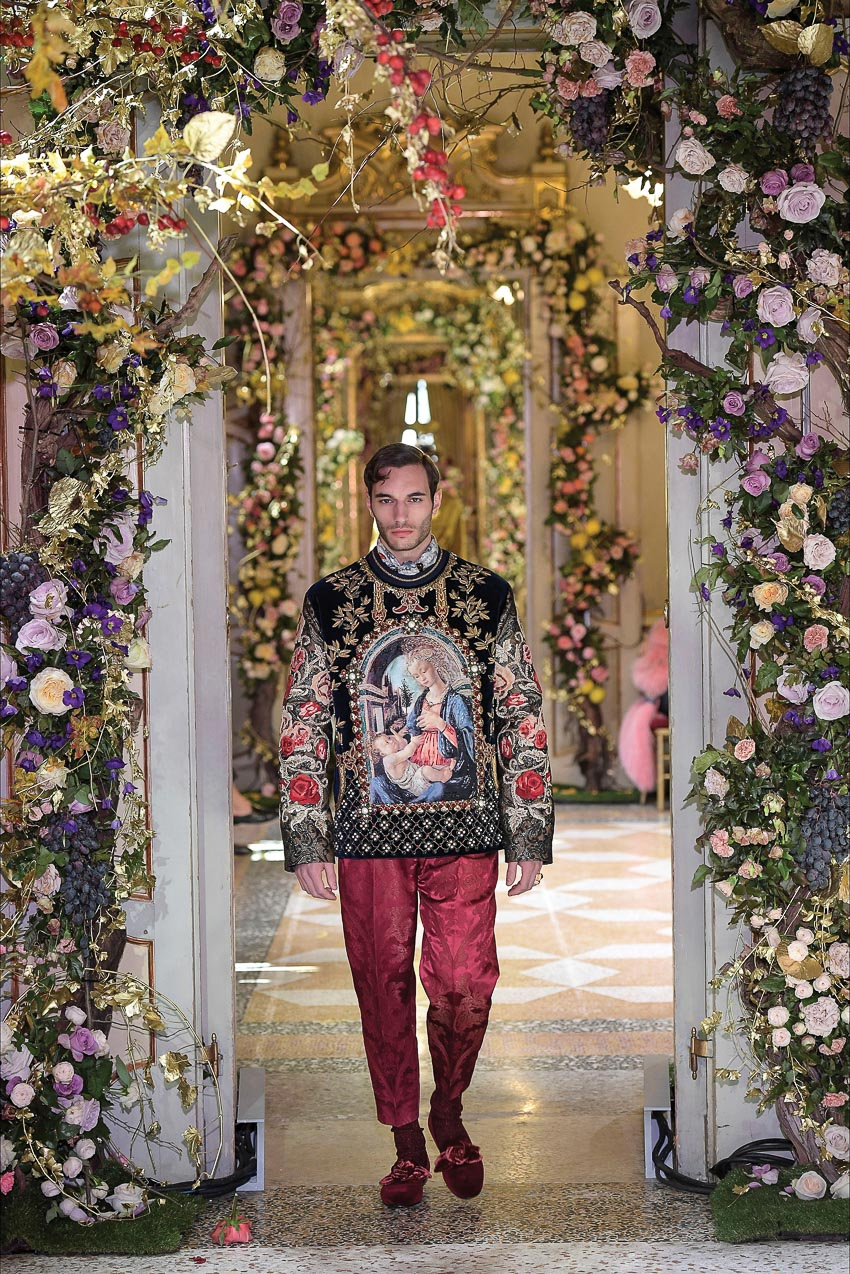 Dolce & Gabbana Alta Moda Thu-Đông 2018-2019 13