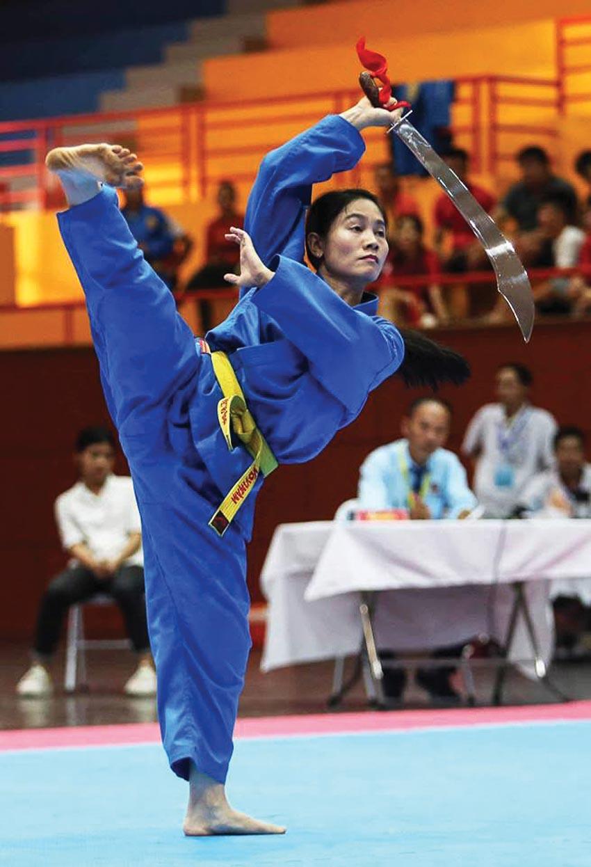 Đội tuyển Vovinam sinh viên Việt Nam tại Đại hội thể thao sinh viên Đông Nam Á lần thứ 19 - Myanmar