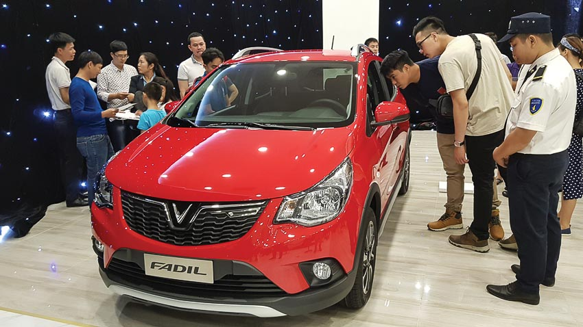 thị trường ôtô Việt Nam 2018 4