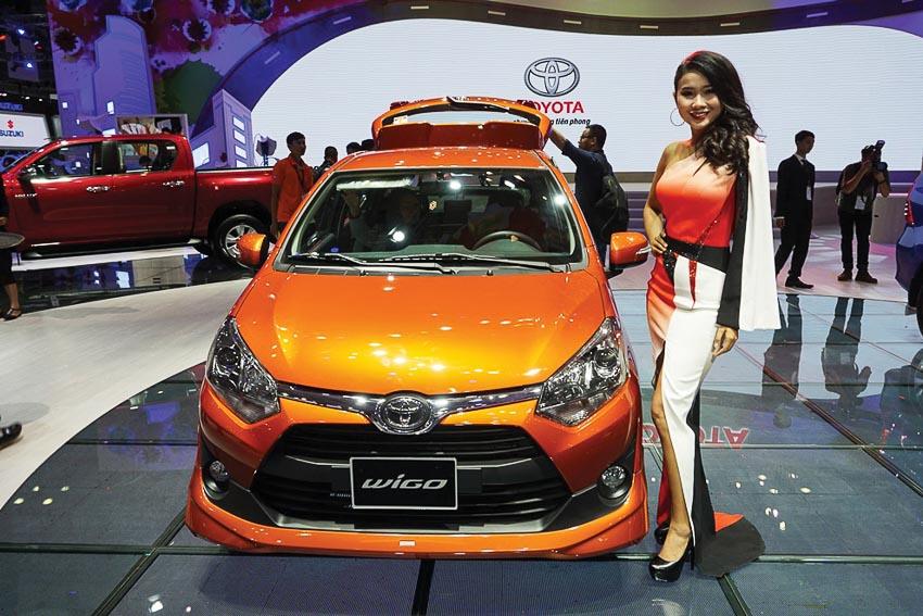 thị trường ôtô Việt Nam 2018 8