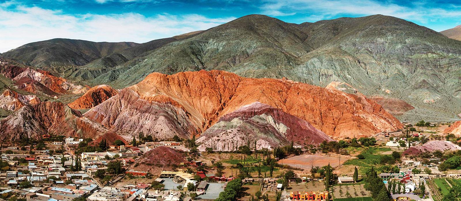 Những dãy núi nhiều sắc màu do biến đổi địa chất 2