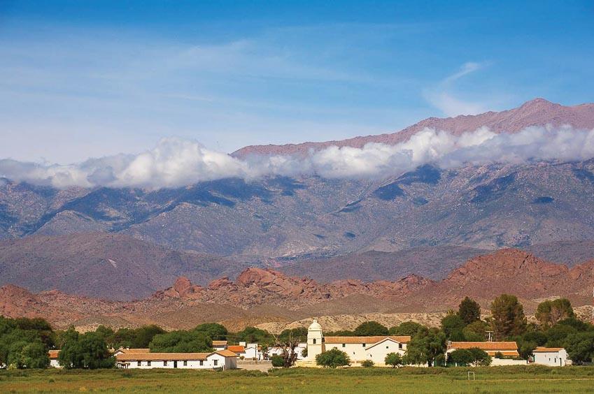 Kiến trúc thuộc địa ở vùng núi Andes, Argentina