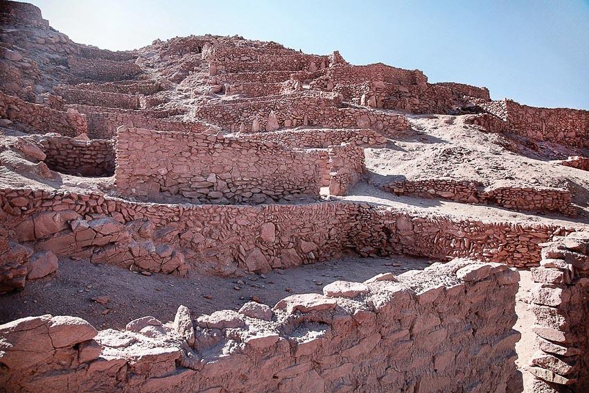 Tàn tích của một bộ lạc xa xưa trên dải Cachi