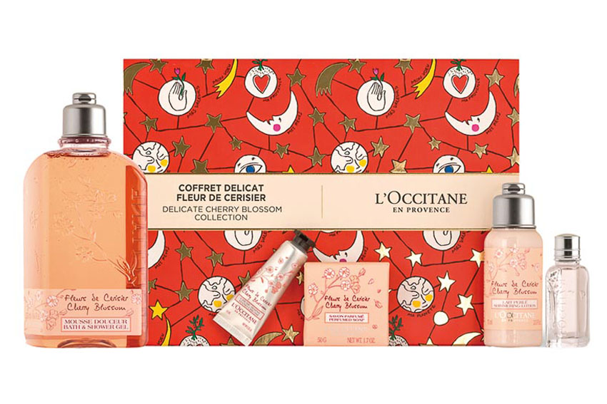 Bộ quà tặng Hoa Anh Đào của L'Occitane